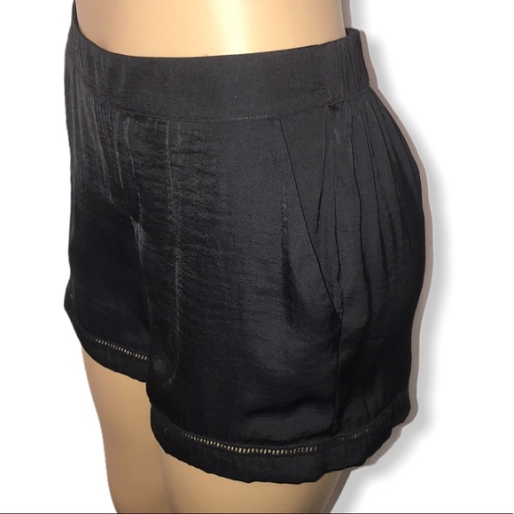 Juicy Couture Pants - Juicy couture shorts black  eyelets details